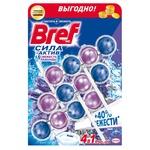 Чистящее средство Bref сила актив туалетный блок 3шт 50г