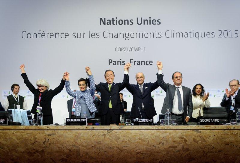 COP21 Climate Conference, Paris, December 12, 2015