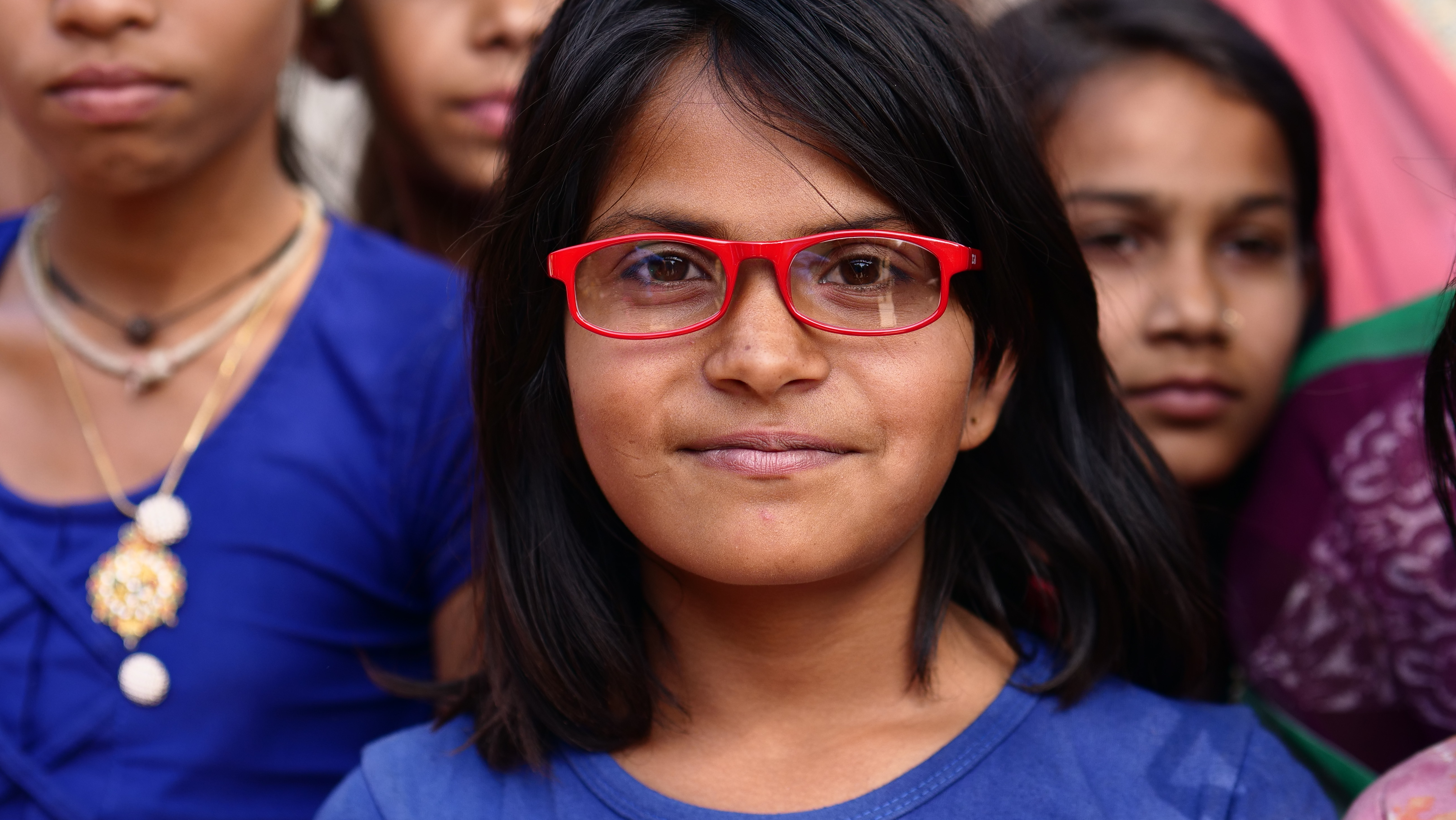 Over 500 million people suffer from uncorrected poor vision in India