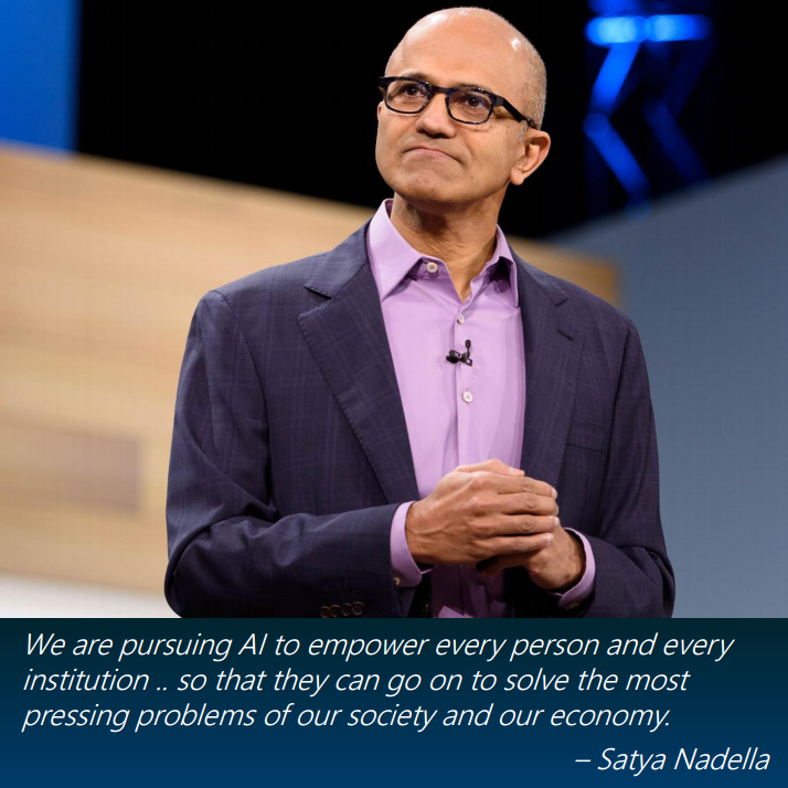 Satya Nadella quote