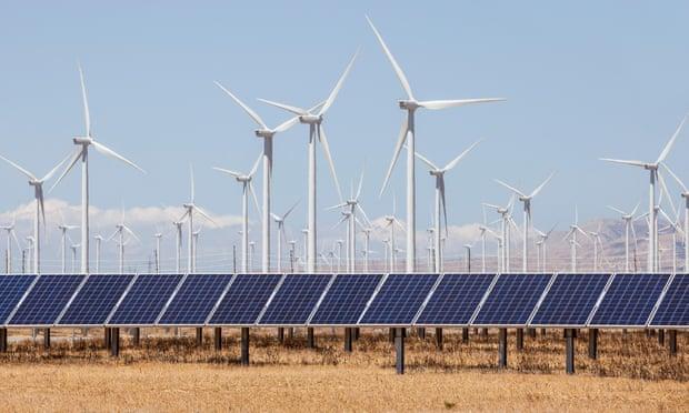 Hybrid energy farm  Souce: The Guardian