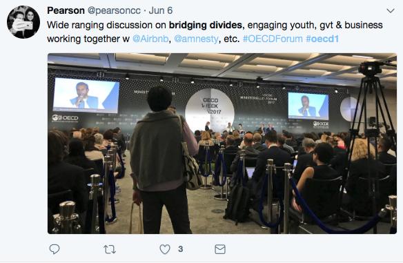 OECD Forum on Twitter