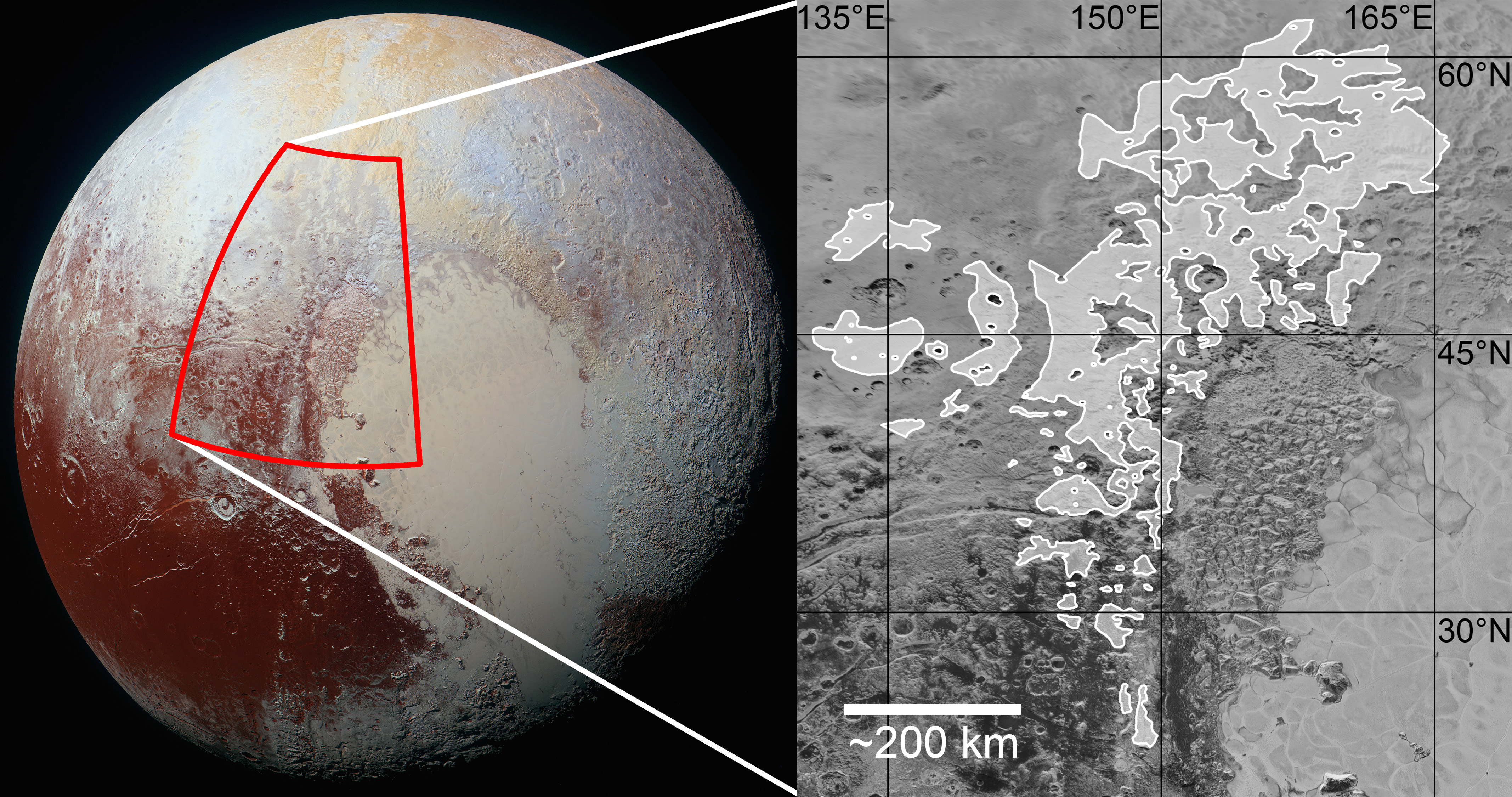 A record of ancient glaciation on Pluto   Nature Research