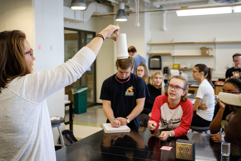 Dr. Erin Henslee in class