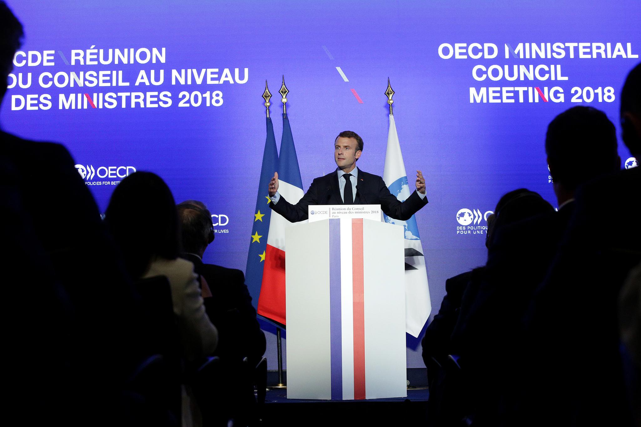 "Emmanuel Macron: ""This is our battle"""