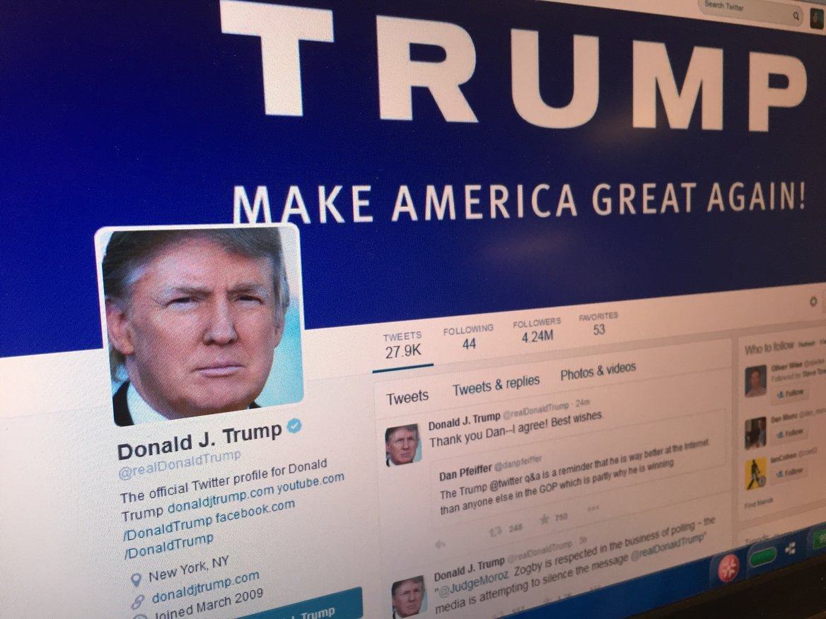 Donald Trump's Twitter Account