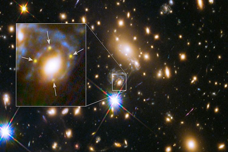 SN Refsdal behind galaxy cluster MACS J1149.
