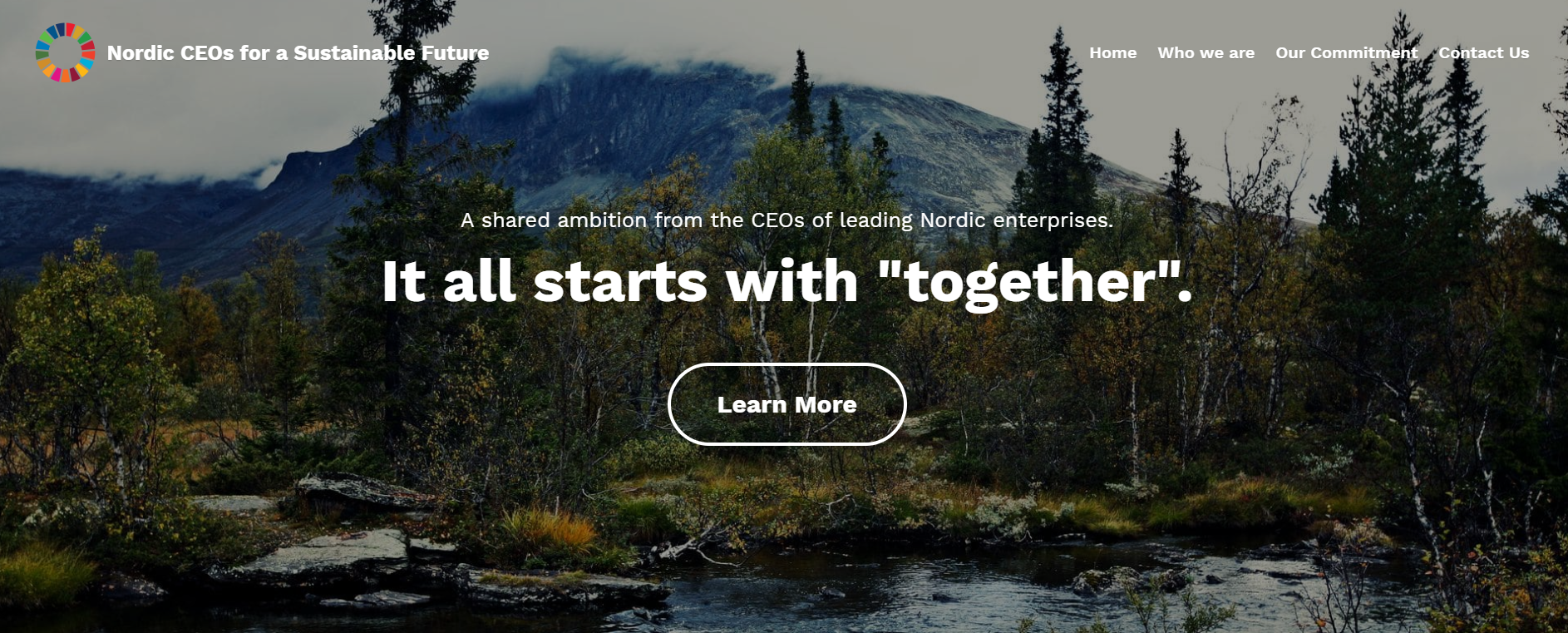 Nordic CEOs for Sustainable Future
