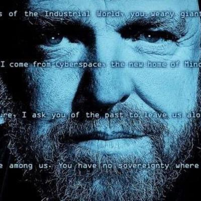 A Declaration of the Independence of Cyberspace by John Perry Barlow