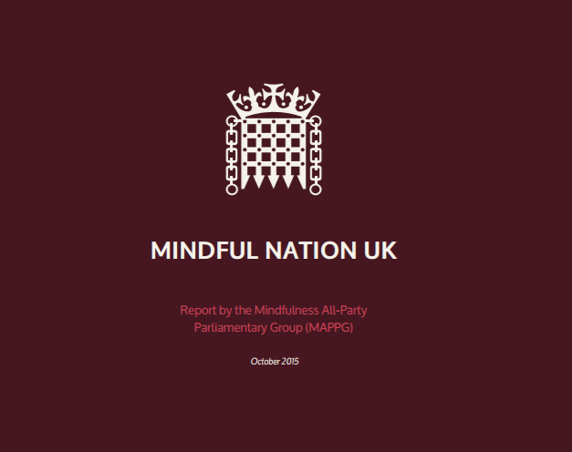 Mindful Nation UK Report