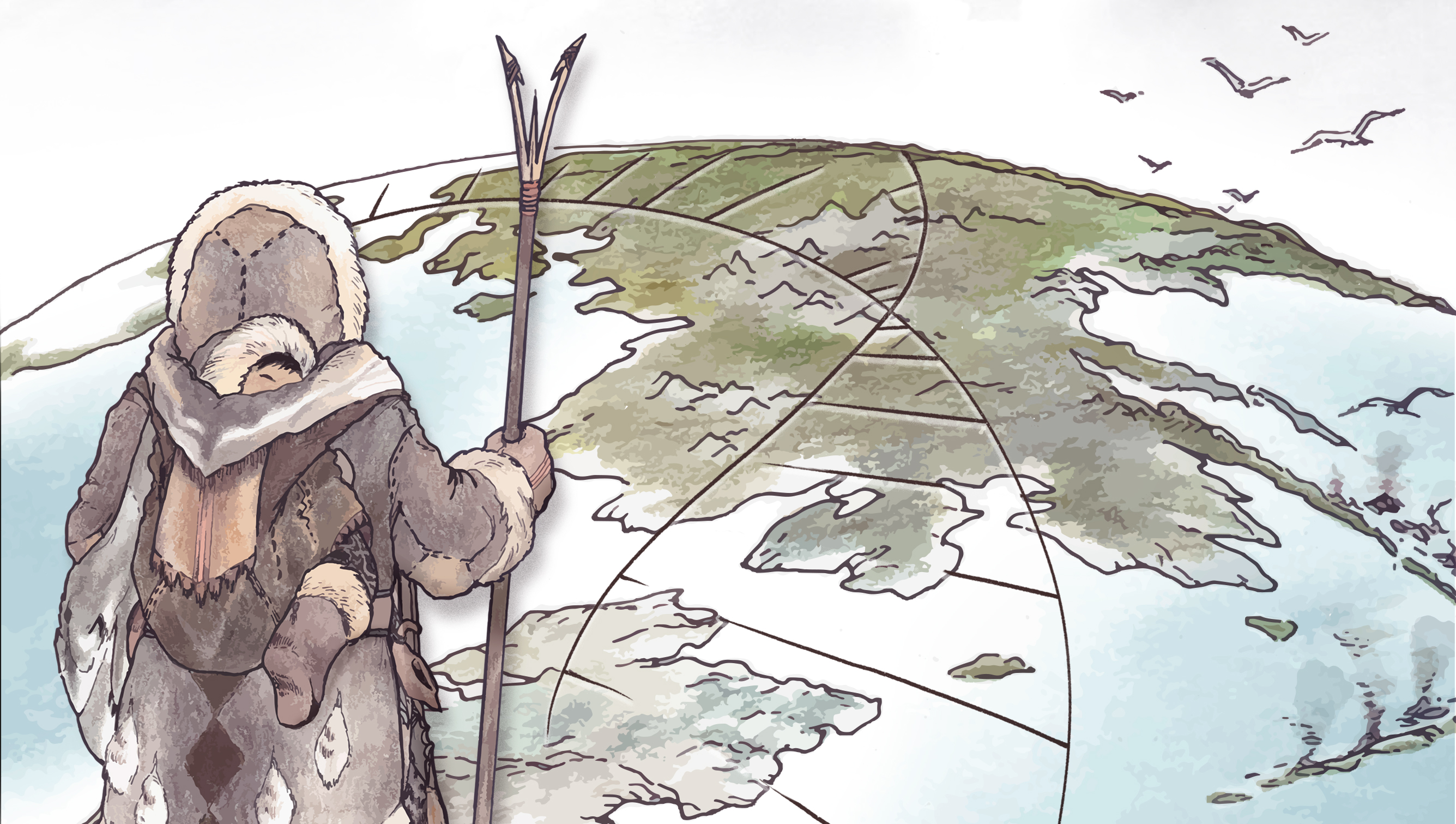 Paleo-Eskimos migrated from Chukotka to America about 4,500 years ago.