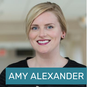 Click here to learn more about Amy Alexander