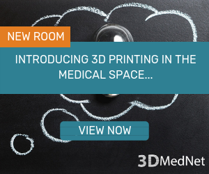 Click here to access the 'Introducing 3D printing in the medical space...' room