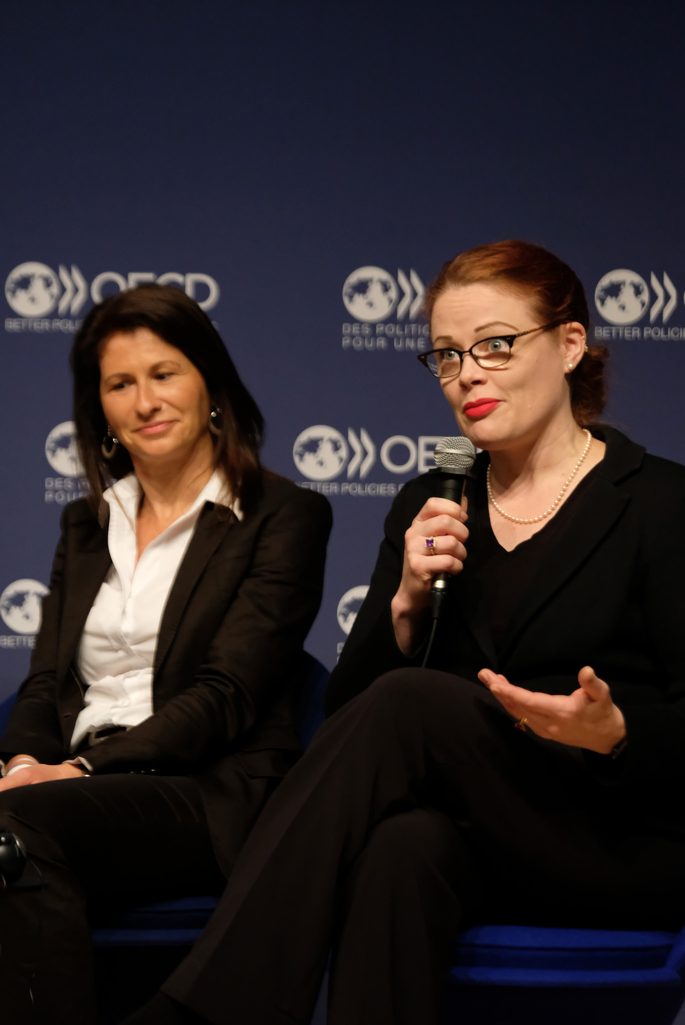 Emmanuelle Quiles, CEO, Janssen France & Tarah Wheeler, Principal Security Advisor and Cybersecurity Policy Fellow, New America, United States