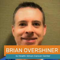 Brian Overshiner (Indiana University Health Department of Radiation Oncology)