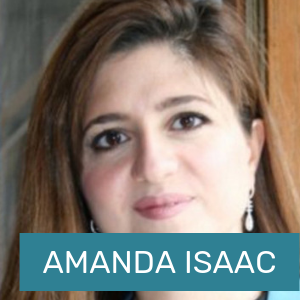 Click here to learn more about Amanda Isaac