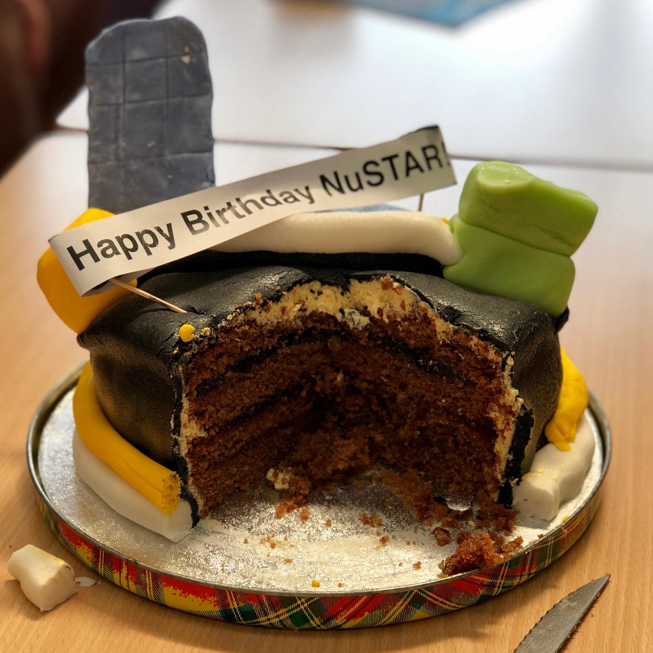 NuSTAR's Birthday Cake