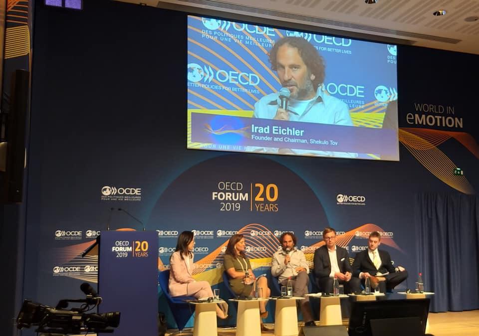 OECD Forum 2019 panel session: Pressure of Modern Life