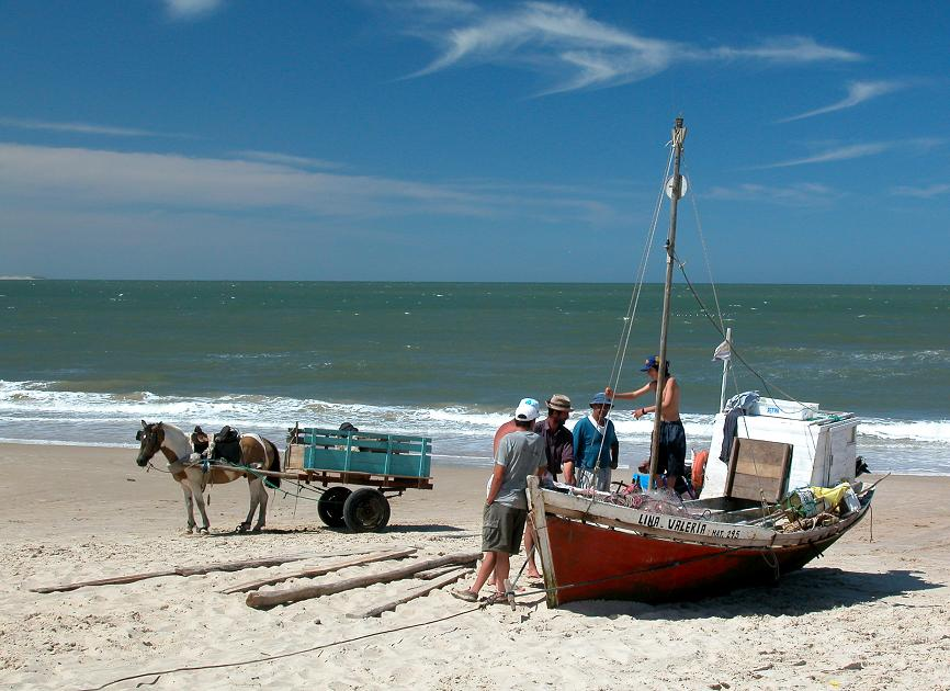 Artisanal fishery in Uruguay