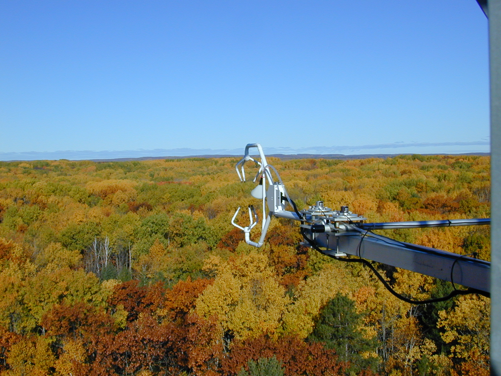 Eddy-covariance measurements above the University of Michigan Biological Station (UMBS)