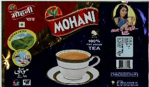 MOHANI TEA WITH LABEL Trademark Application Detail | COMPANY