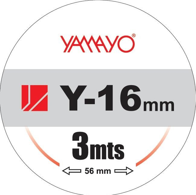 YAMAYO .Y-16 mm, 3 mts, 56 mm.