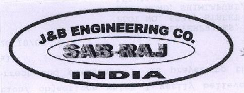 J & B ENGINEERING CO. WITH LABEL