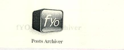 fyo Posts Archiver