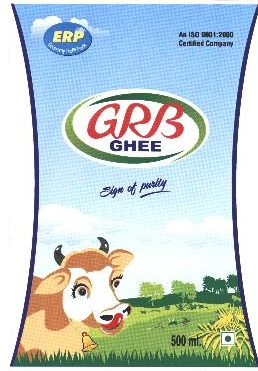 Trademarks of G r b Dairy Foods Private Limited | Zauba Corp