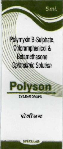 Polyson EYE/EAR DROPS WITH DEVICES