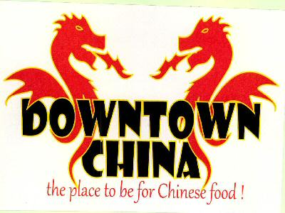 DOWNTOWN CHINA (DEVICE OF DRAGON)
