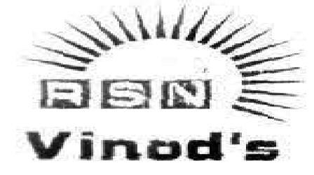 RSN Vinod's Trademark Detail | Zauba Corp