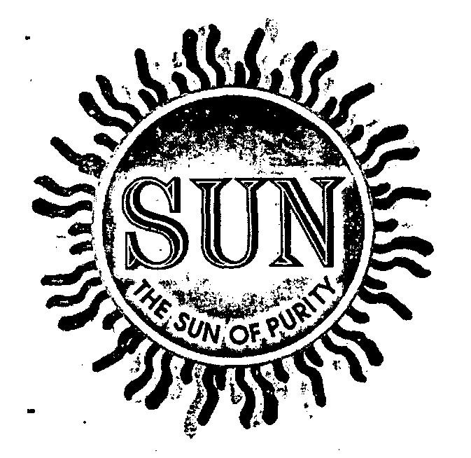 SUN THE SUN OF PURITY (LABEL)