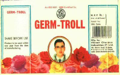 GERM TROLL (LABEL)