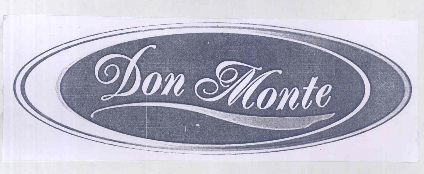 Don Monte Trademark Detail Zauba Corp