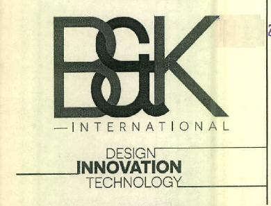 B&K INTERNATIONAL DESIGN INNOVATION TECHNOLOGY