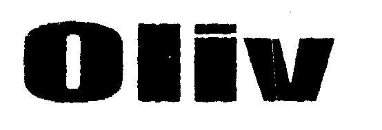 Oliv (LETTER WRITTEN IN HEAVY CHARACTER)