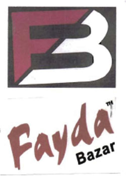FAYDA BAZAR WITH FB LOGO Trademark Application Detail