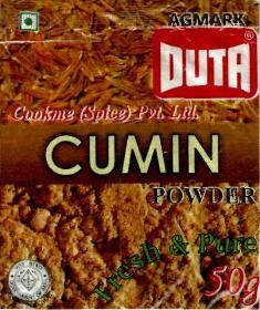 DUTA CUMIN POWDER(DEVICE)