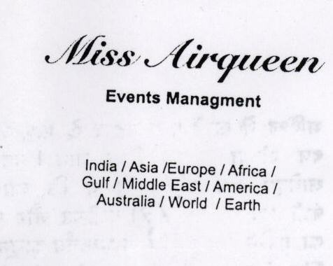 MISS AIRQUEEN (LABEL)