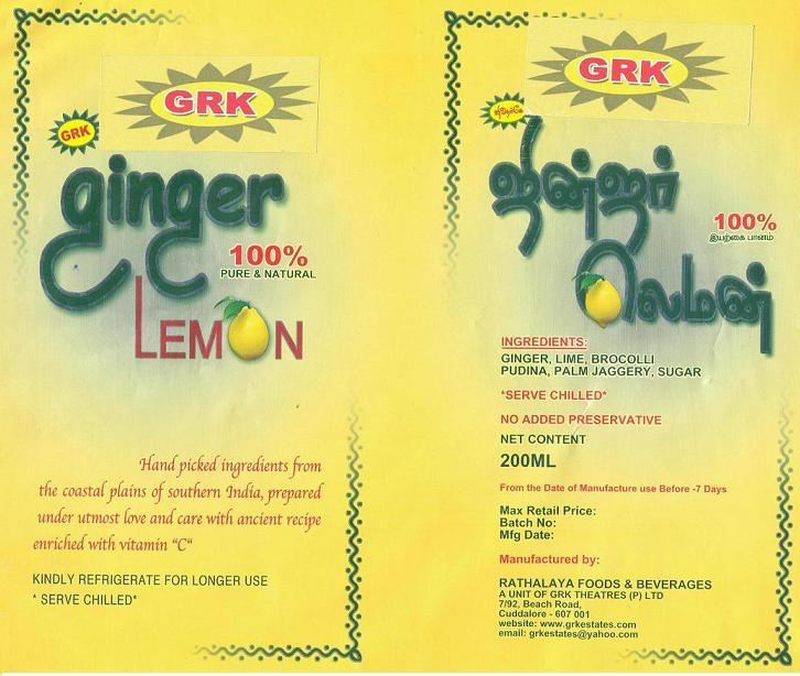 GRK GINGER LEMON