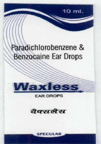 Waxless EAR DROPS