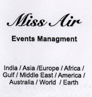 MISS AIR (LABEL)