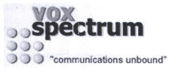 Trademarks of Vox Spectrum Limited | Zauba Corp