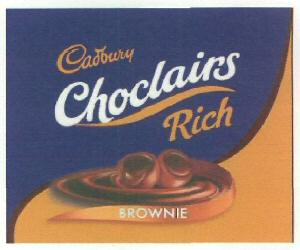 cadbury CHOCLAIRS RICH (DEVICE)