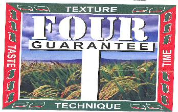 FOUR GUARANTEE WITH LABEL