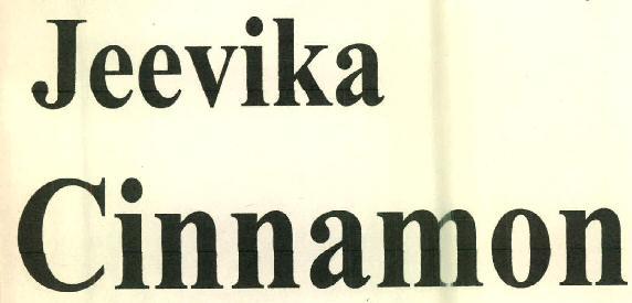 Jeevika Cinnamon