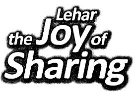 LEHAR THE JOY OF SHARING (Stylized Logo)