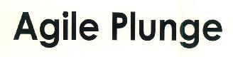 Agile Plunge