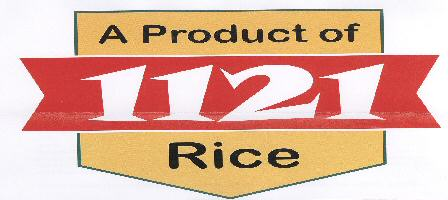 A Product of 1121 Rice WITH LABEL